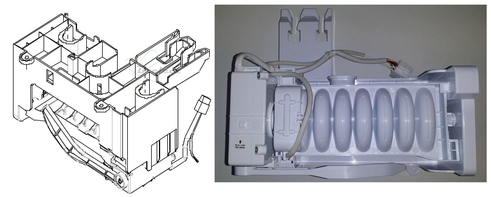 meilleur frigo distributeur glacons pas cher. Black Bedroom Furniture Sets. Home Design Ideas