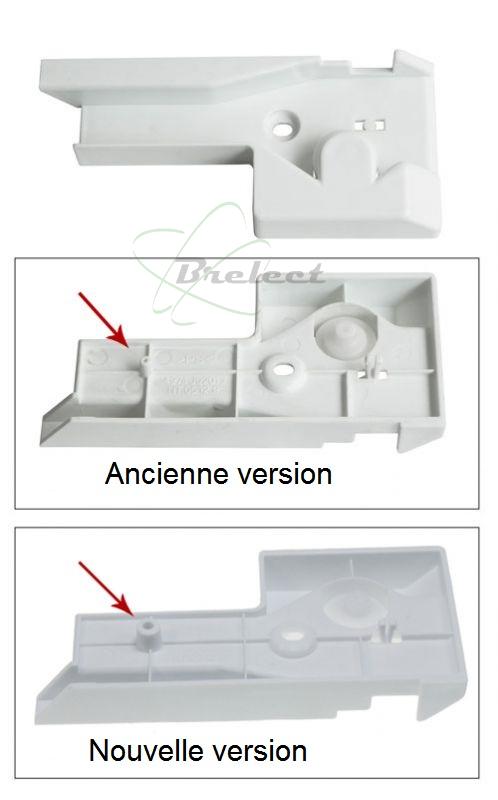 Gros electromenager piece mecanique guide rail droit bac a legume lg - Bac a legume frigo ...